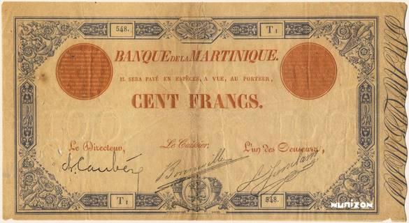 100 francs Bleu et Rouge Type 1874  Pick##NA