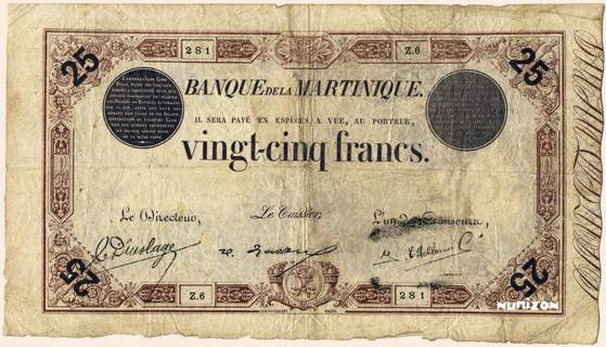 25 francs Marron Type 1874  Pick##7b