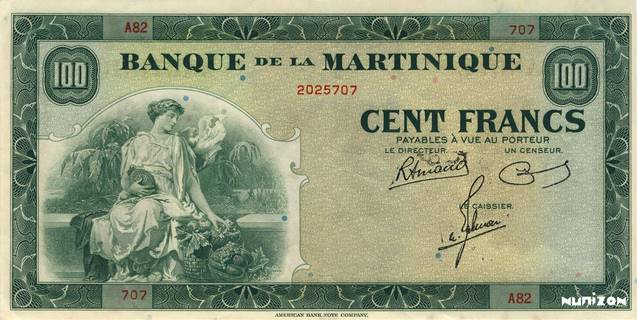 100 francs Type 1942  (US) Pick##19