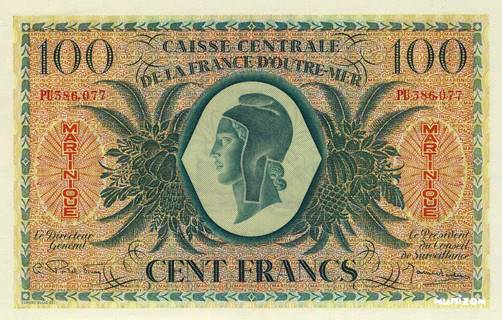 100 francs Type 1943  (GB) Pick##25