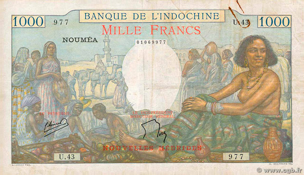 1000 francs Pick##15