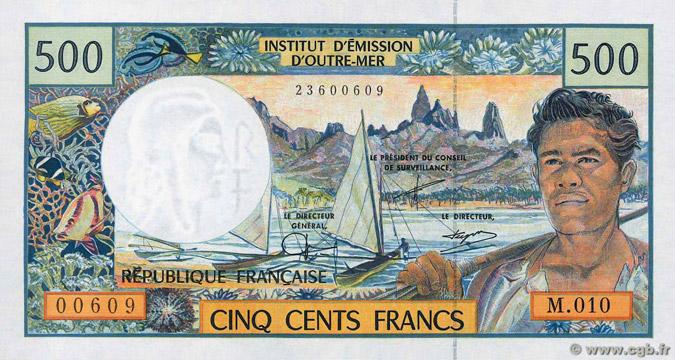 500 francs Polynésie française Type 1992 Pick##1
