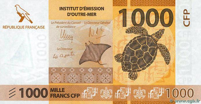 1000 francs Polynésie française Type 2014 Pick##6