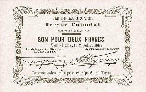 2 francs 1884 Type 2 Pick##3
