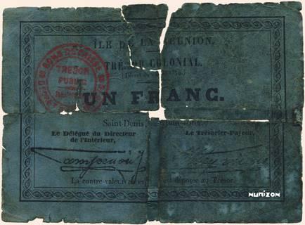 1 franc 1884 Type 1 Pick##6