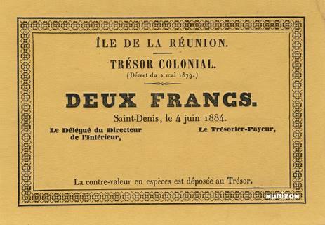 2 francs 1884 Type 1 Pick##7