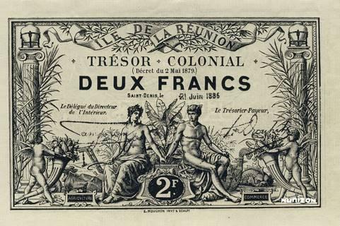2 francs 1886 Type 3 Pick##10