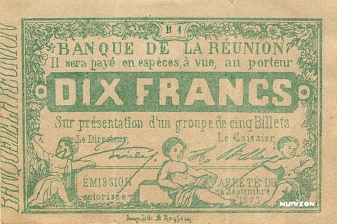 10 francs Type 1873  Pick##12