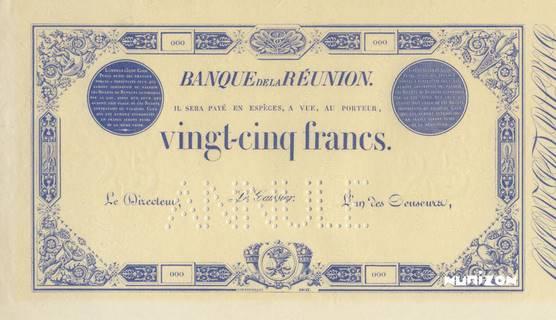 25 francs Bleu Type 1852  Pick##15
