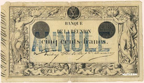 500 francs Type 1852 Pick##17