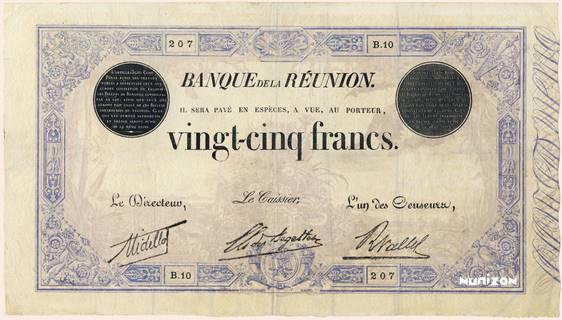 25 francs Bleu Type 1874 Pick##18