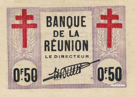 50 centimes Croix de Lorraine Type 1943 Pick##33