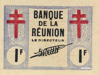 1 franc Croix de Lorraine Type 1943 Pick##34