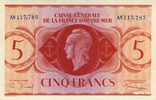 5 francs Type 1944  (GB) Pick##36