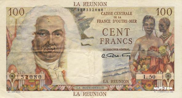 100 francs La Bourdonnais Type 1946  Pick##45