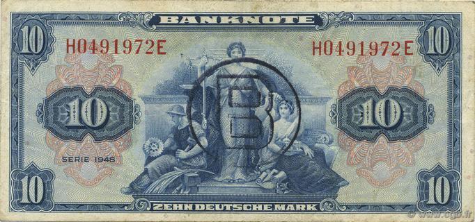 10 Deutsche Mark Type 1948 Pick##5