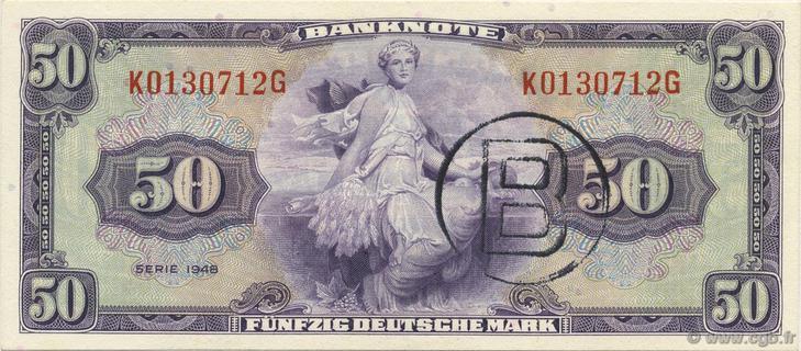 50 Deutsche Mark Type 1948 Pick##7