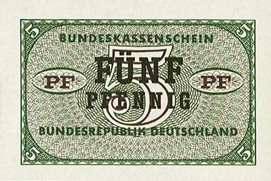 5 Pfennig Type 1967 Pick##25