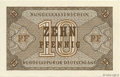 10 Pfennig Type 1967 Pick##26