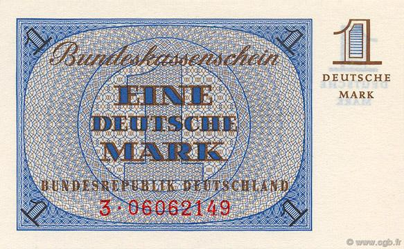 1 Deutsche Mark Type 1967 Pick##28