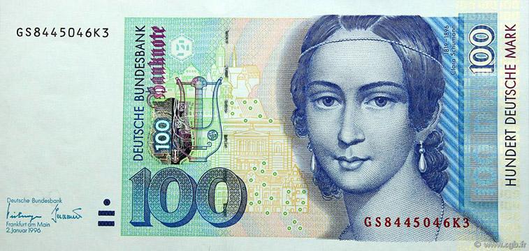 100 Deutsche Mark Type 1996 Pick##46