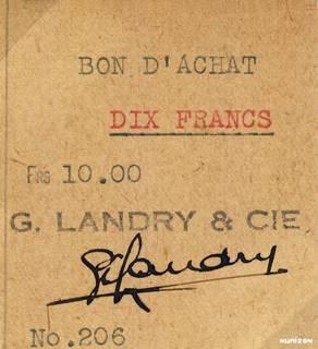 10 francs Type 1942 Bon d'achat Pick##NA