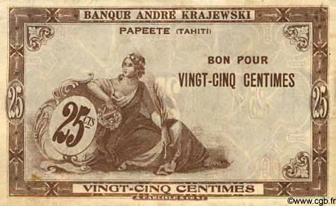 25 centimes Type 1920 Banque Krajewski Pick##7