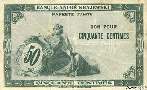 50 centimes Type 1920 Banque Krajewski Pick##8