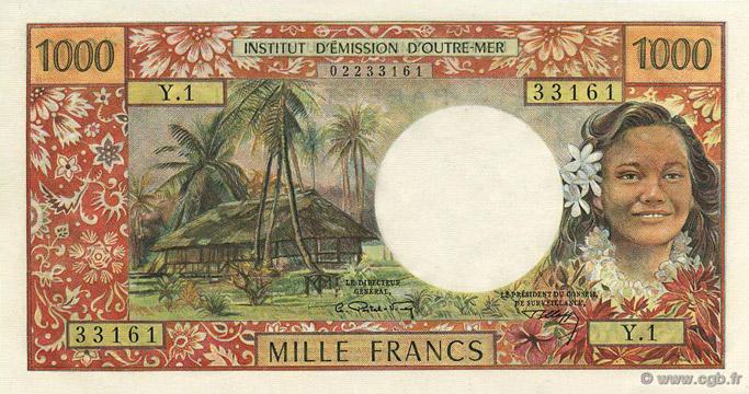 1000 francs Polynésie française Type 1969 Pick##26