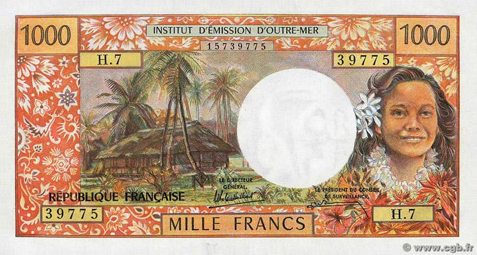 1000 francs Polynésie française Type 1971 Pick##27