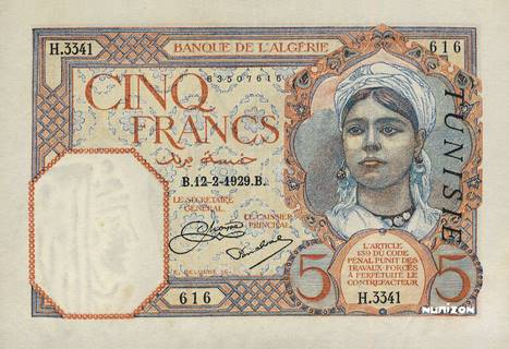 5 francs Type 1924 Pick##8