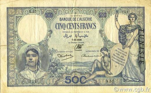 500 francs Type 1926  Pick##14