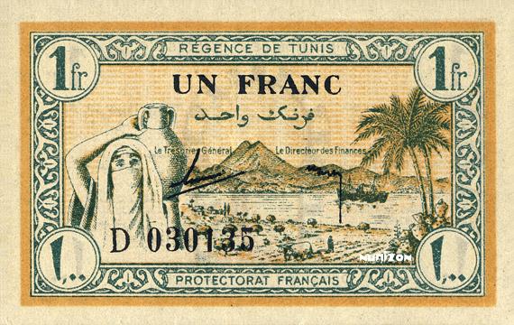 1 franc Type 1943 Pick##55