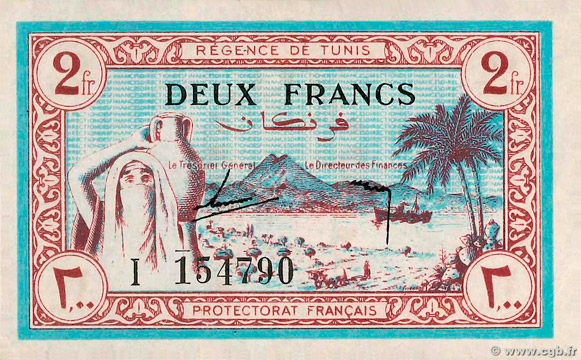 2 francs Type 1943 Pick##56