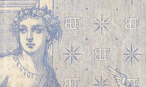 1000 francs Type 1862 « Blue »