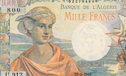 "The 1000 francs Type 1945 ""Arnaud"""