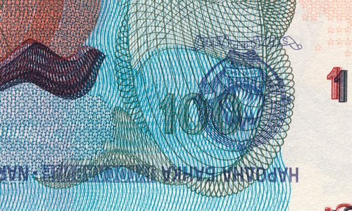 Un curieux billet de 1000 dinara Type 1990