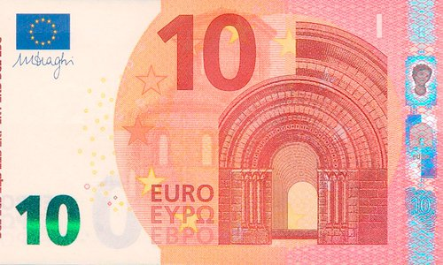 Record sales for a 10 euro note!