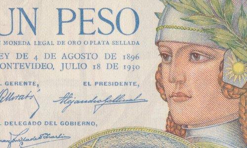 1 Peso Type 1930 Uruguay
