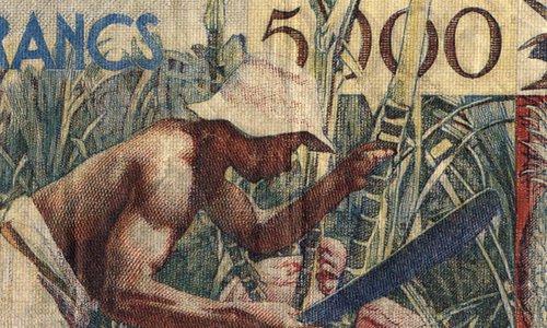 5000 francs Guadeloupe Type 1955