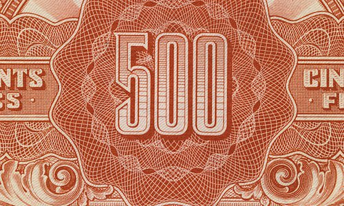 The 500 francs Marianne Type 1945