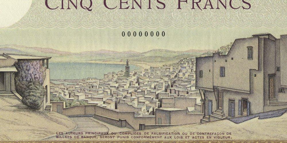 Maroc, le 5000 francs Type 1937