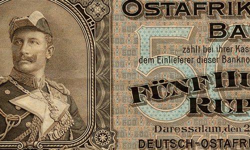500 Rupien Type 1912