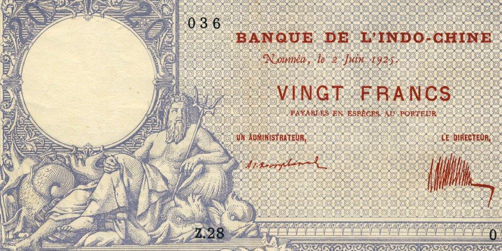 Le 20 francs Neptune Type 1888