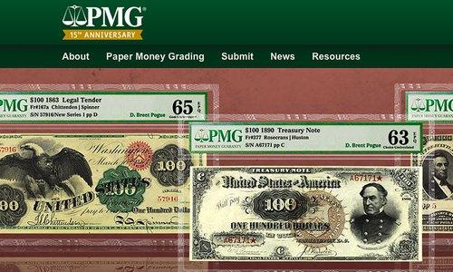 5 000 000 de billets gradés chez PMG !
