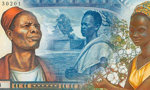 Banknotes from the Republic of Mali